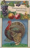 Thanksgiving  Turkey Holiday Postcard - Cakcollectibles - 1
