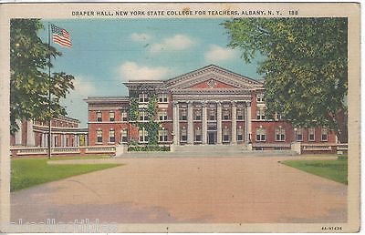 Draper Hall,New York State College for Teachers-Albany,New York - Cakcollectibles