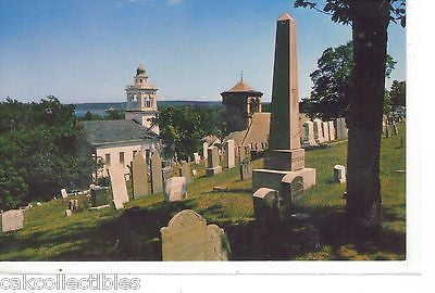 Burial Hill,Pilgrim Burial Ground at Plymouth,Massachusetts - Cakcollectibles
