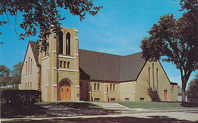 First Lutheran Church Sauk Centre, Minnesota Postcard - Cakcollectibles - 1