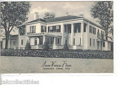 Abner Wheeler House-Framingham Centre,Massachusetts - Cakcollectibles
