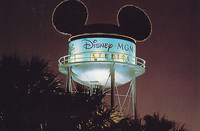Disney Earffel Tower- MGM Studios Postcard - Cakcollectibles - 1