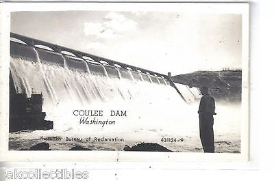 RPPC-Coulee Dam-Washington - Cakcollectibles