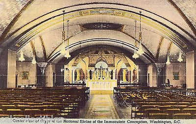 Center View of Crypt,National Shrine of The Immaculate Conception-Washington,D.C - Cakcollectibles