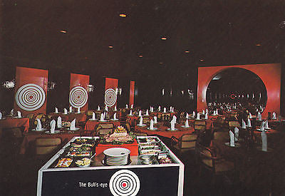 """The Bull's eye Restaurant"" San Juan Puerto Rico Postcard - Cakcollectibles - 1"
