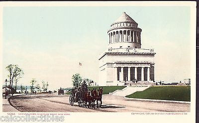 Grant's Tomb,Riverside Drive-New York City UDB (Horse and Carriage) - Cakcollectibles