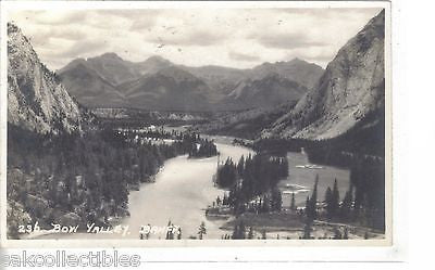 RPPC-Bow Valley-Banff - Cakcollectibles - 1