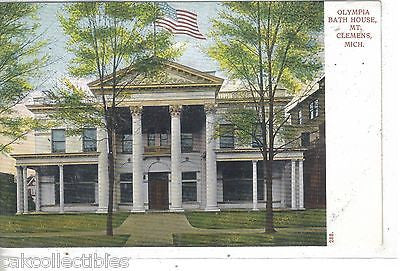 Olympia Bath House-Mt. Clemens,Michigan UDB - Cakcollectibles