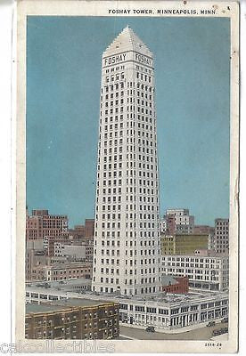 Foshay Tower-Minneapolis,Minnesota 1940 - Cakcollectibles