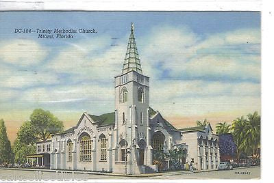 Trinity Methodist Churh-Miami,Florida 1953 - Cakcollectibles