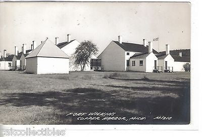 RPPC-Fort Wilkins-Copper Harbor,Michigan - Cakcollectibles - 1