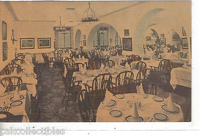 Interior-New England Dining Room,Prince George Hotel-New York City - Cakcollectibles