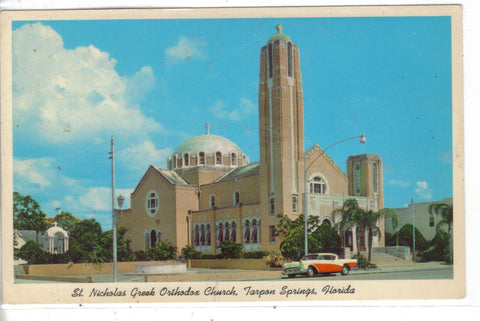 St. Nicholas Greek Orthodox Church-Tarpon Springs,Florida Post Card - 1
