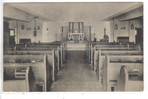 Chapel in St. Christopher's Inn,Graymoor,Garrison,New York Post Card - 1