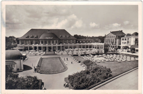 RPPC-Casino and Garden-Germany Post Card