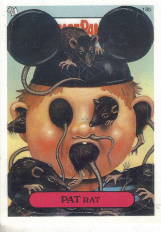 Garbage Pail Kids 2003 #18b Pat Rat