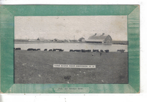 Farm Scene near Aberdeen,South Dakota 1910