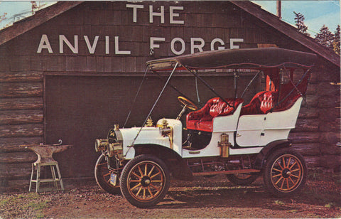 1905 Tourist-Touring-Bellwood Chevrolet-Bell,California -vintage postcard - 1