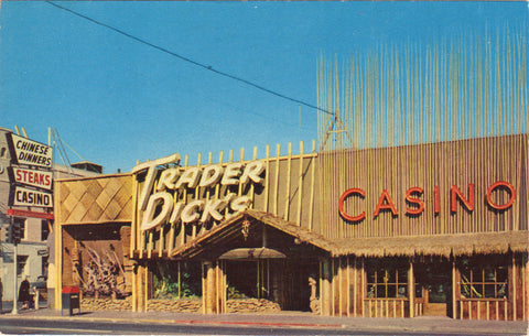 Nugget Casino-Motor Lodge-Sparks,Nevada -vintage postcard - 1