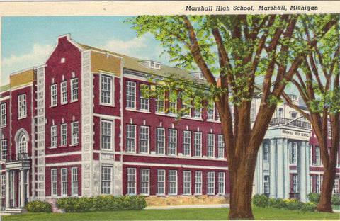 Marshall High School-Marshall,Michigan - Cakcollectibles - 1