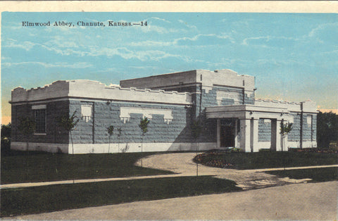 Elmwood Abbey-Chanute,Kansas - Cakcollectibles - 1