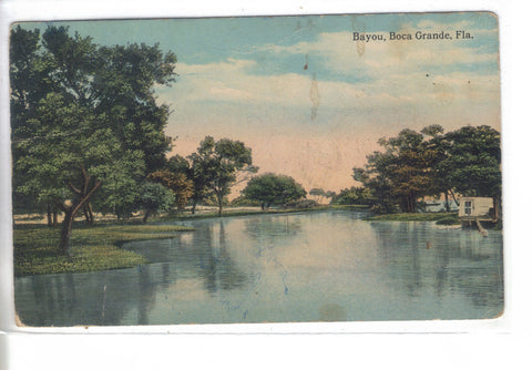 Old Postcard of Bayou-Boca Grande,Florida - Cakcollectibles - 1