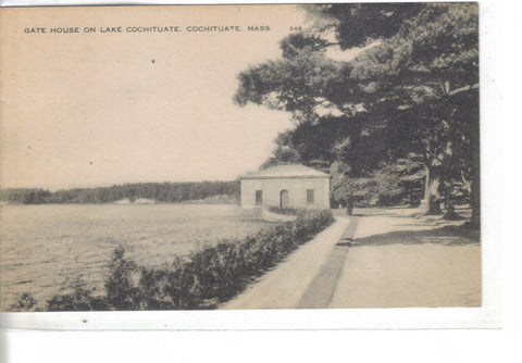 Gate House on Lake Cochituate-Cochituate,Massachusetts - Cakcollectibles - 1