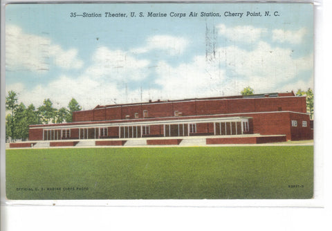 Station Theater,U.S. Marine Corps Air Station-Cherry Point,North Carolina - Cakcollectibles - 1