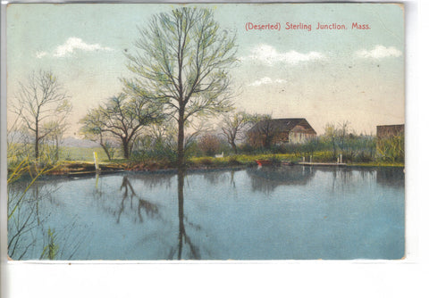 (Deserted) Sterling Junction-Massachusetts 1907 - Cakcollectibles - 1