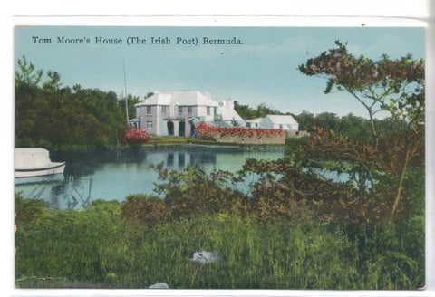 Tom Moore's House (The Irish Poet)-Bermuda - Cakcollectibles - 1