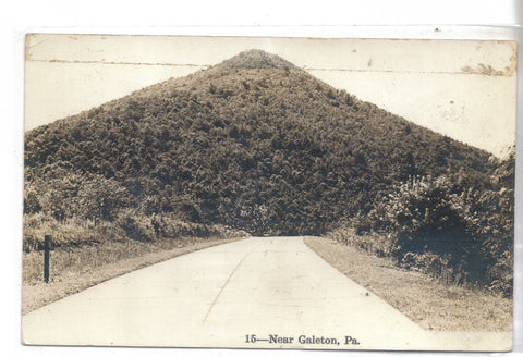RPPC-Street View near Galeton,Pennsylvania 1942 - Cakcollectibles - 1