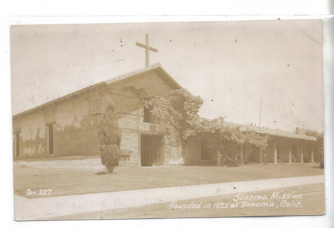RPPC-Sonoma Mission-Sonoma,California - Cakcollectibles - 1