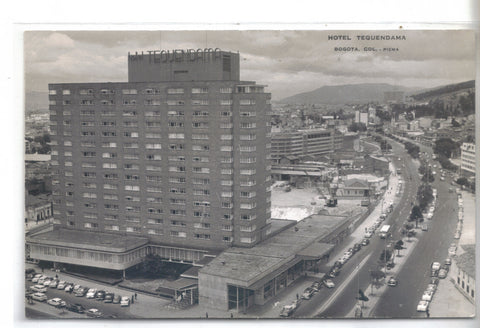 RPPC-Hotel Tequendama-Bogota,Columbia - Cakcollectibles - 1