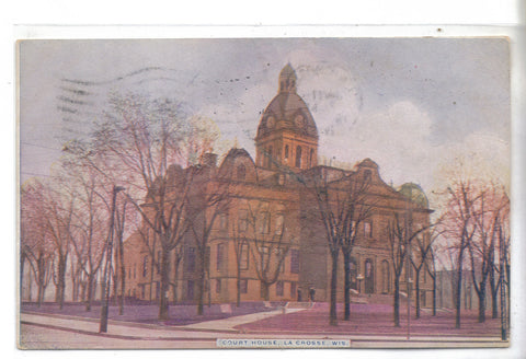 Court House-La Crosse,Wisconsin 1910
