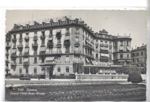 RPPC-Grand Hotel Beau-Rivage-Geneve