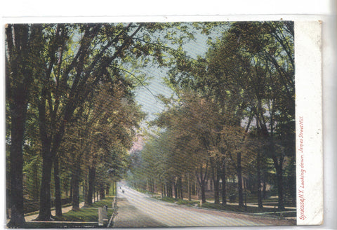 Looking Down James Street Hill-Syracuse,New York 1907 - Cakcollectibles - 1