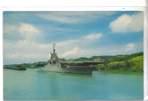 U.S. Aircraft Carrier passing through the Panama Canal - Cakcollectibles - 1