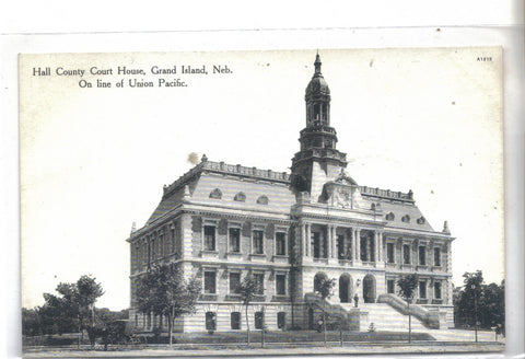 Hall County Court House-Grand Island,Nebraska