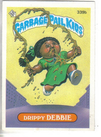 Garbage Pail Kids 1987 #339b Drippy Debbie