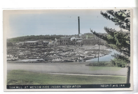 RPPC-Saw Mill at Menominee Indian Reservation-Neopit,Wisconsin
