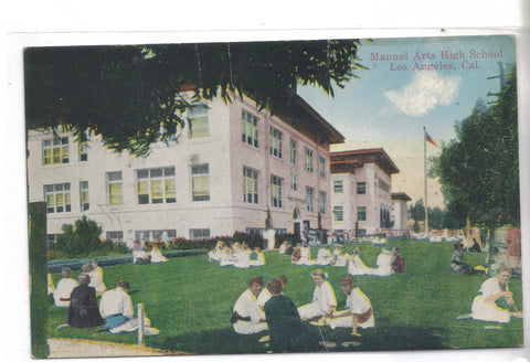 Manual Arts High School-Los Angeles,California - Cakcollectibles - 1