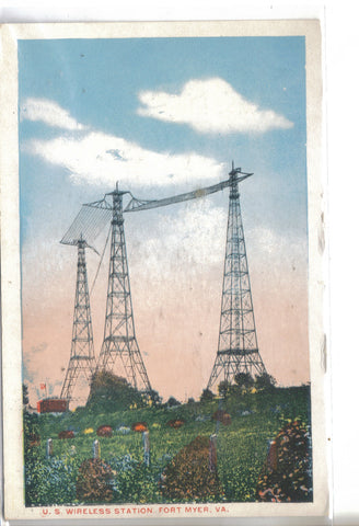 U.S. Wireless Station-Fort Myer,Virginia - Cakcollectibles - 1