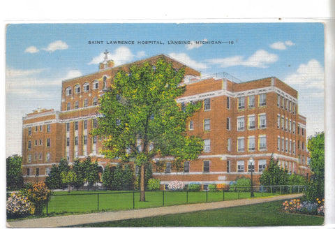 Saint Lawrence Hospital-Lansing,Michigan - Cakcollectibles - 1