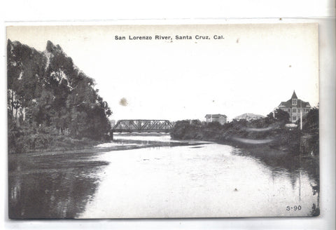 San Lorenzo River-Santa Cruz,California - Cakcollectibles - 1