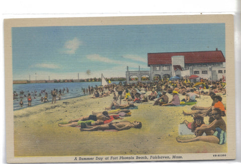 A Summer Day at Fort Phoenix Beach-Fairhaven,Massachusetts - Cakcollectibles - 1