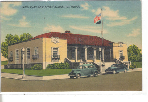 U.S. Post Office-Gallup,New Mexico - Cakcollectibles - 1