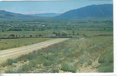 View of Boulder,Montana from Free Enterprise Health Mine - Cakcollectibles - 1