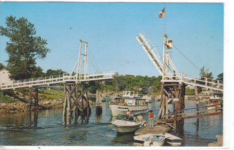 The Footbridge at Perkins Cove-Ogunquit,Maine - Cakcollectibles - 1