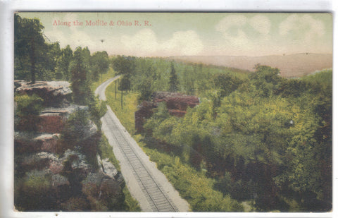 View Along The Mobile & Ohio Railroad - Cakcollectibles - 1