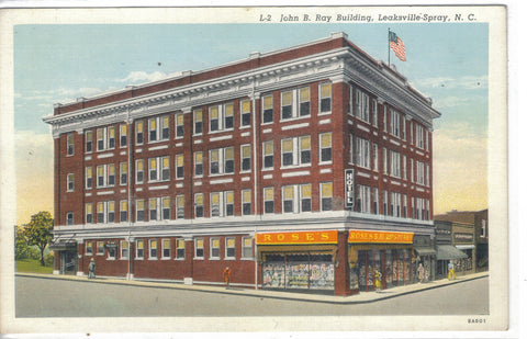 John B. Ray Building-Leaksville-Spray,North Carolina - Cakcollectibles - 1